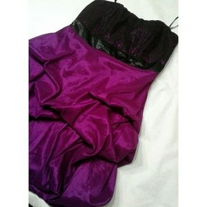 torrid Dresses - Torrid Strapless Prom Cocktail Dress Size 20